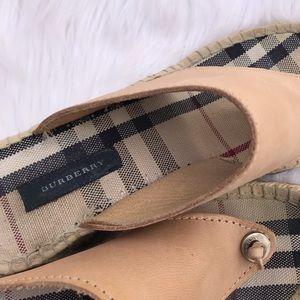 Burberry Shoes - Burberry Espadrille Sandals